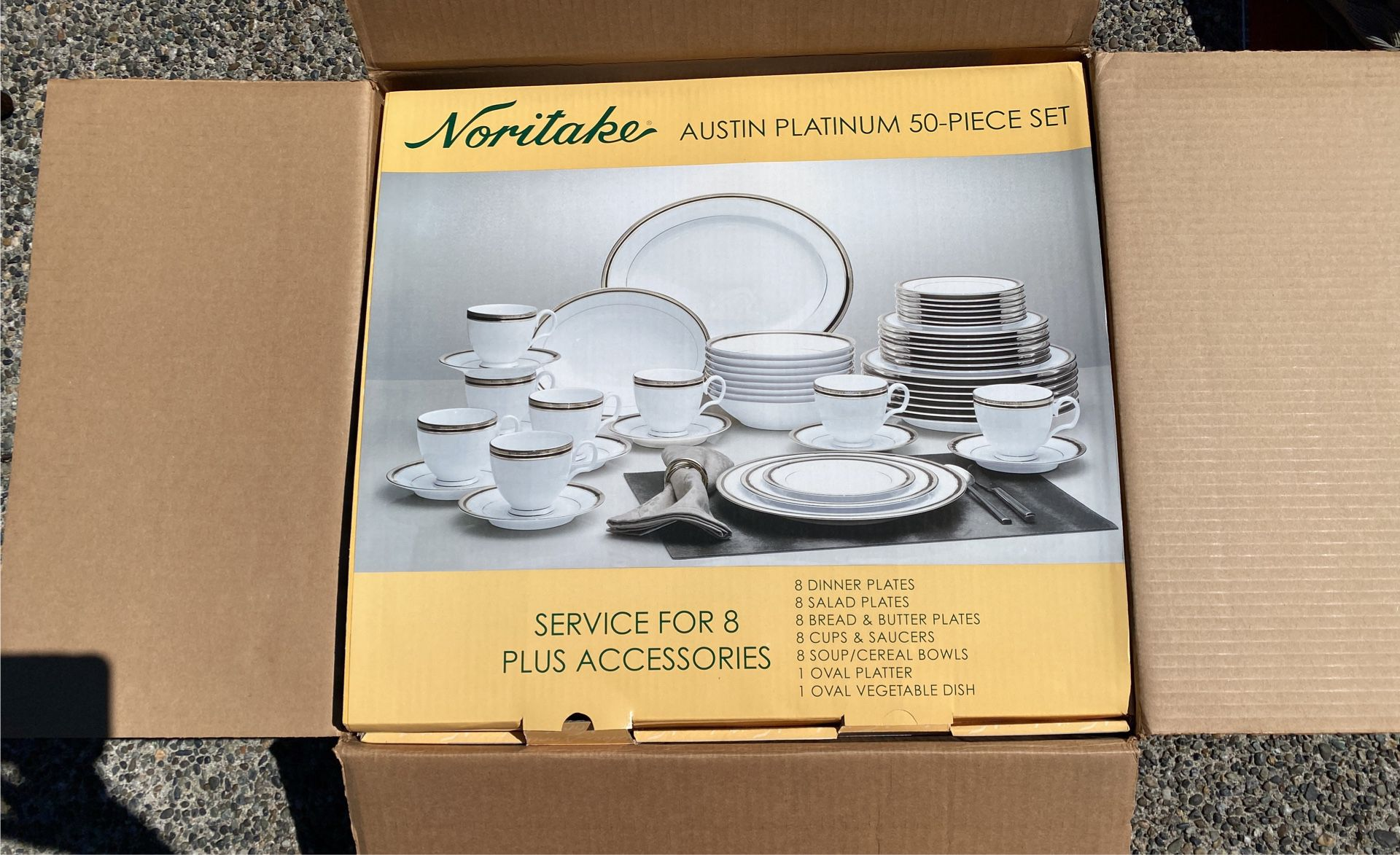 Noritake 50 Piece Set