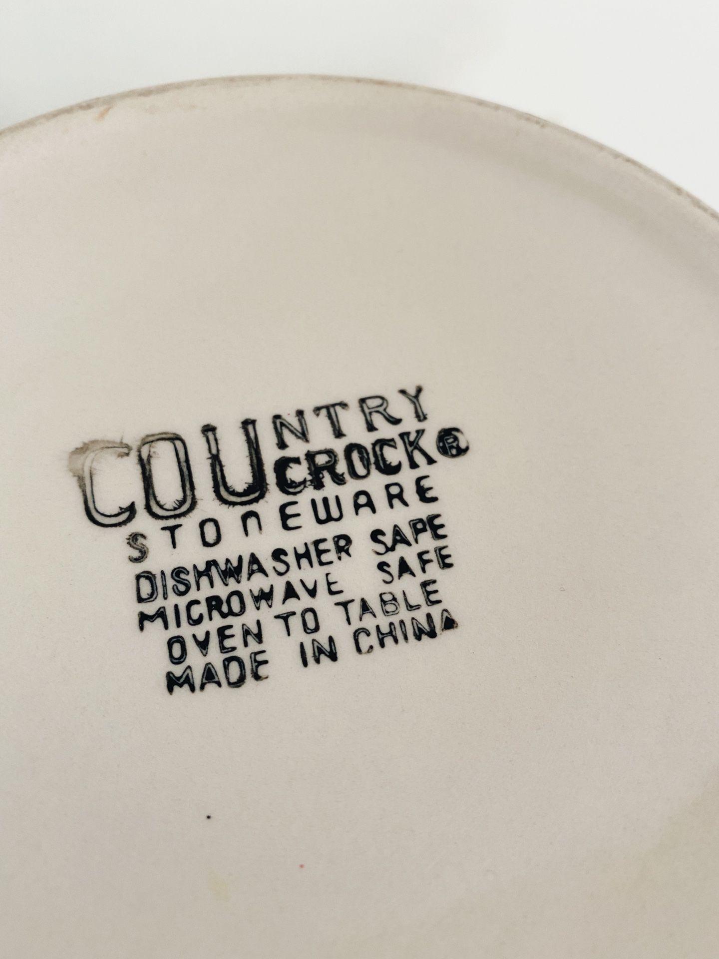 Crock Mixing Bowl