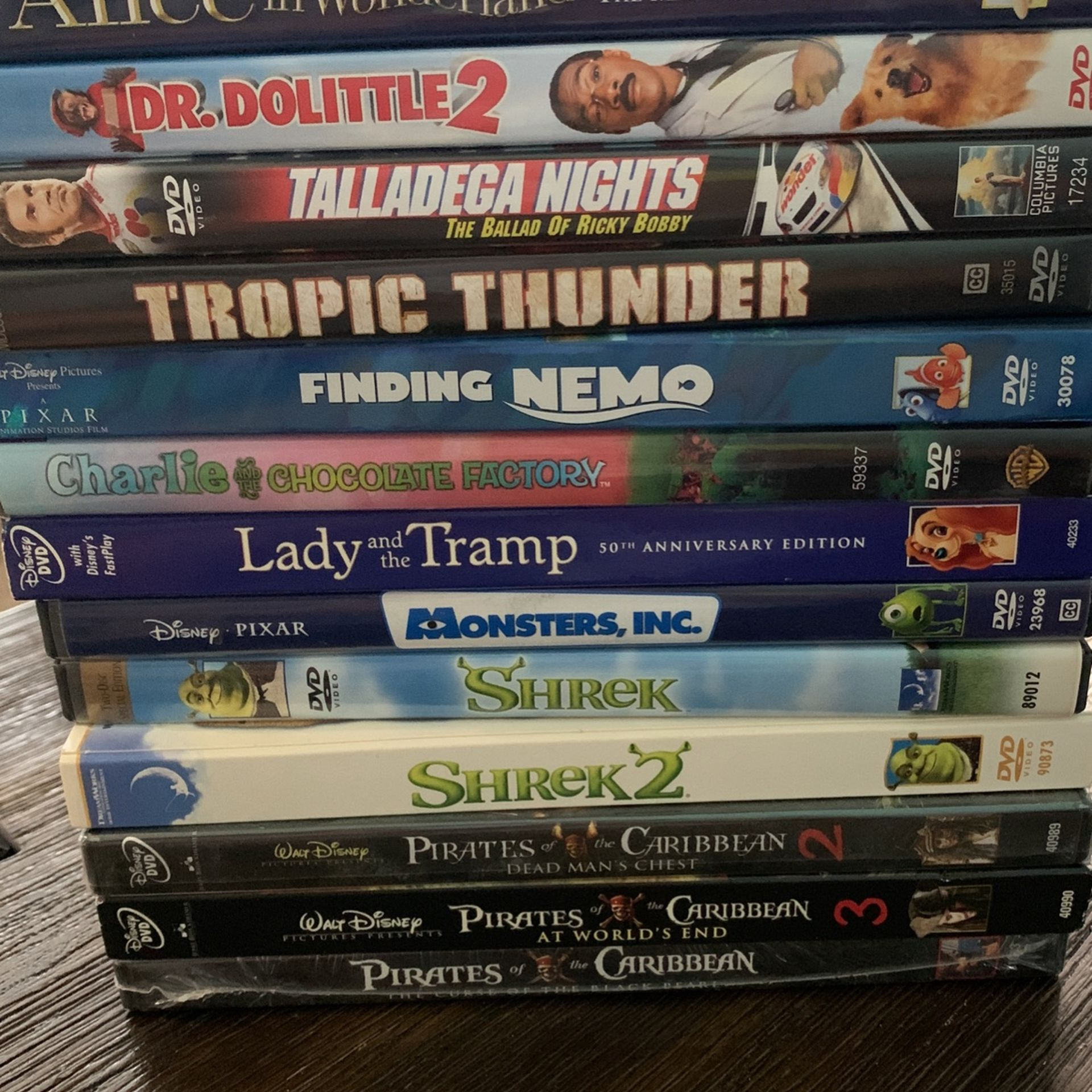 DVDS- Must Take All