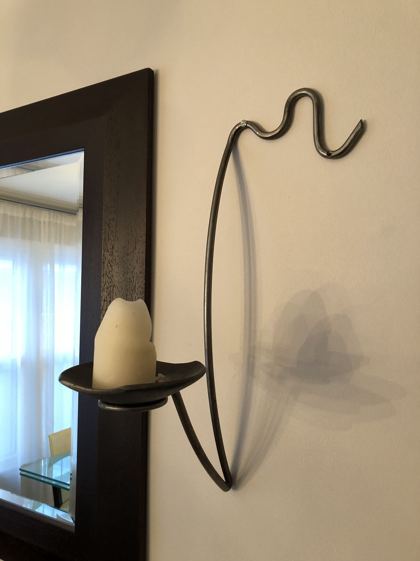 2 Wall Sconces / Candle Holders.