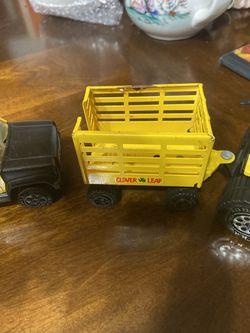 1979 Tonka Farm Truck, Tractor and Trailer Thumbnail