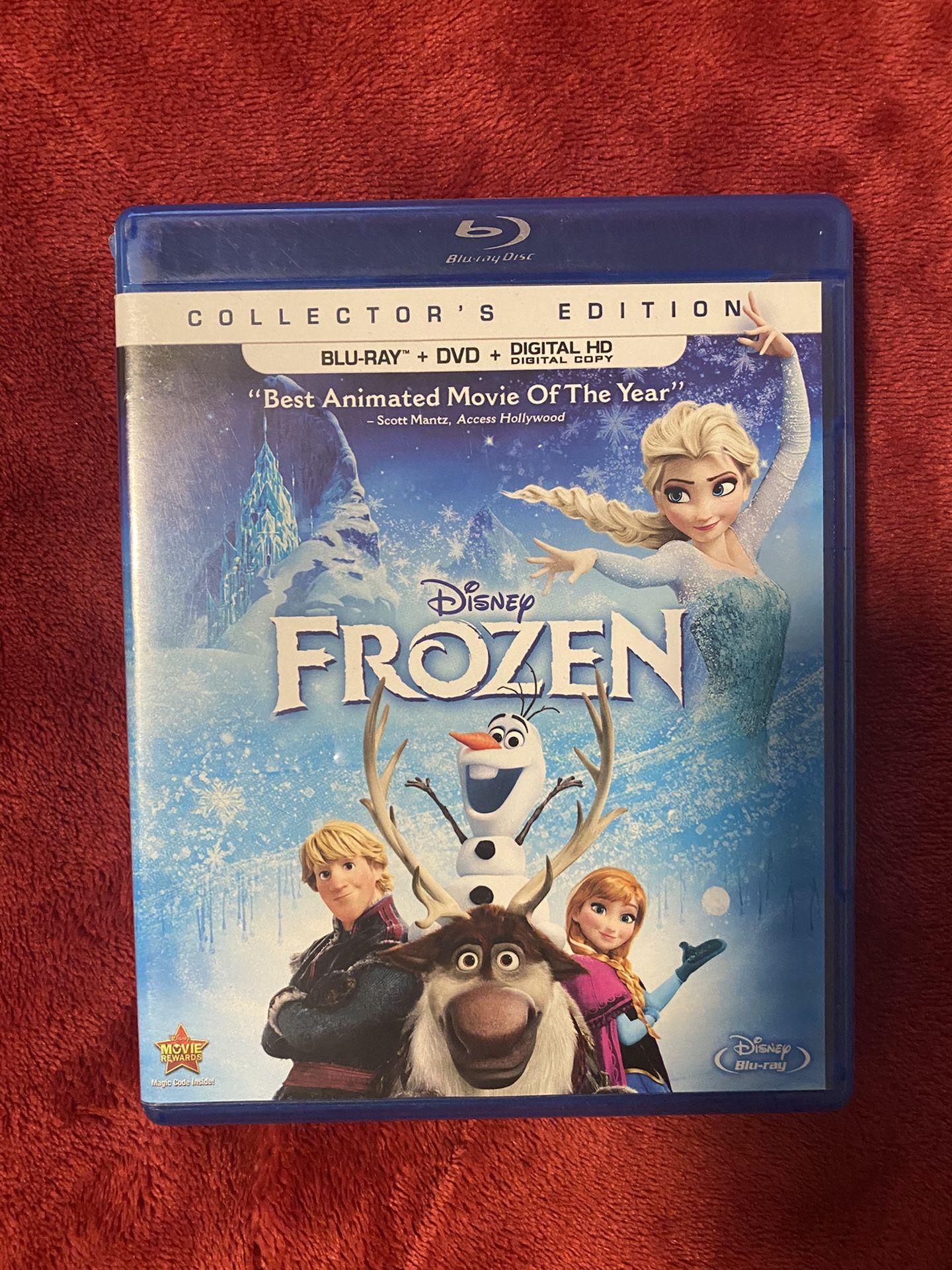 Frozen Blu Ray + DVD