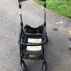 Car seat With Base And Click Connect Stroller Thumbnail