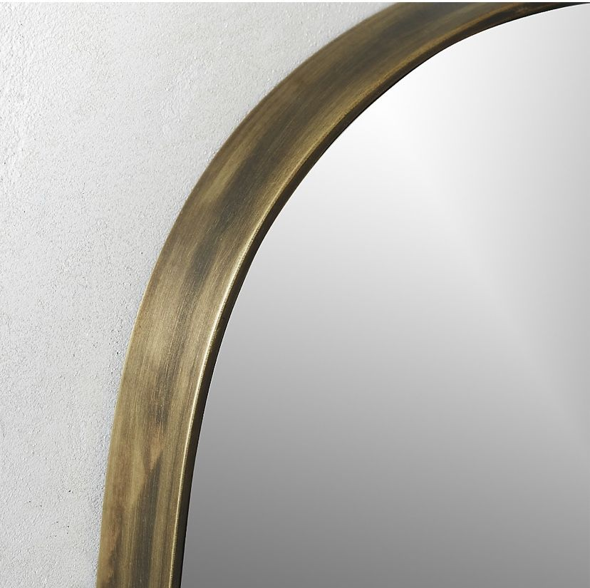 CB2 Rogue Oval Mirror