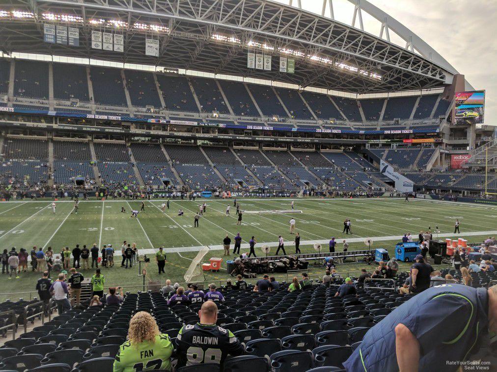 Saints vs Seahawks Tickets - 2 Charter Seats