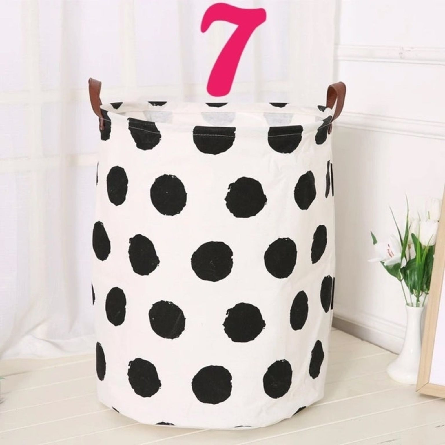 """Large Laundry Hamper, Large Storage Basket, Toy Storage, Nursery Fabric Basket, Storage Bin, Toy Basket, Bin. Great for your cozy home.  Size: 20"""" Hei"""