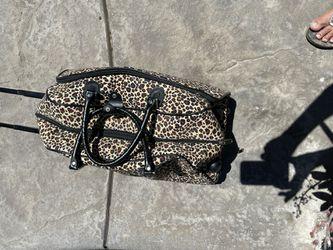 Weekend Leopard Traveling Bag Thumbnail