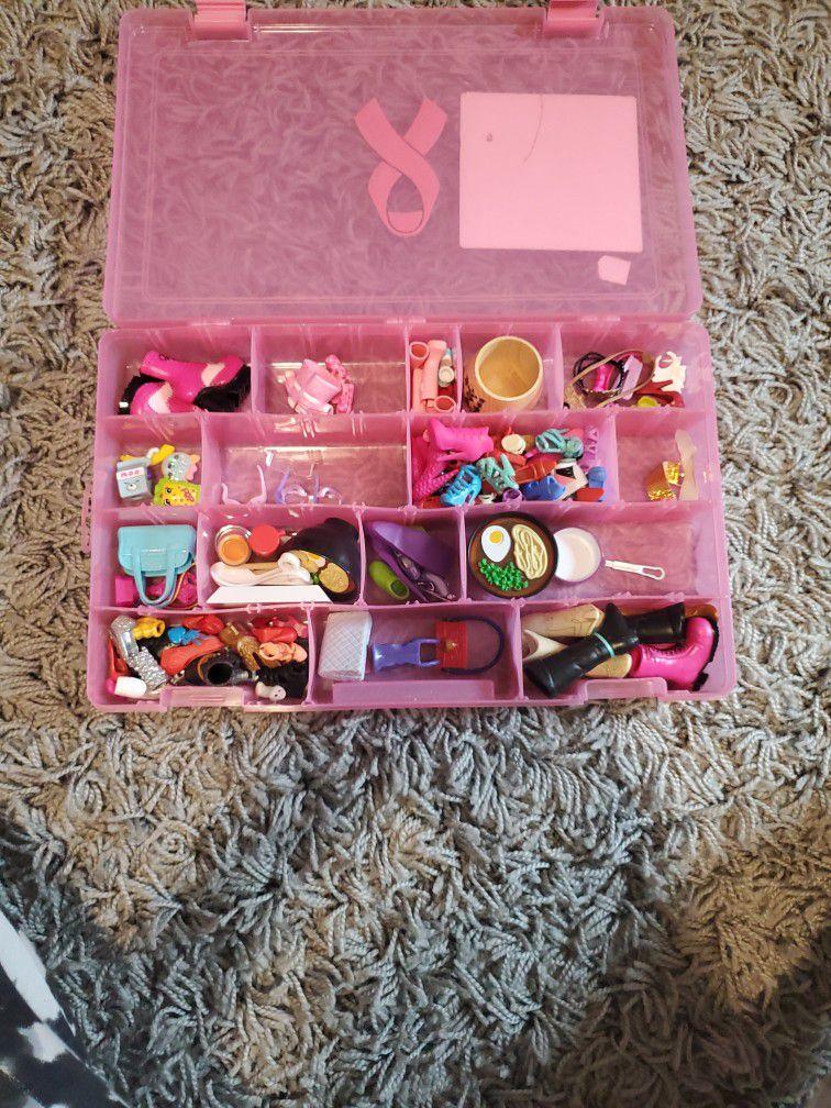 Doll Accessories.Barbies,Lol dolls.