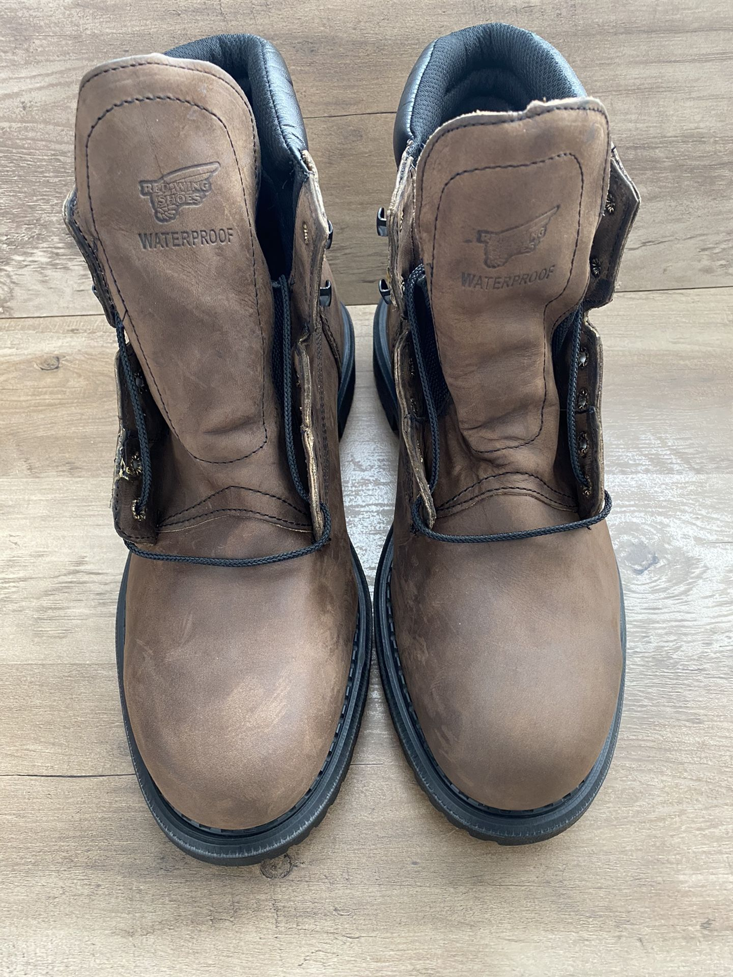 Red Wing Work Boots 2206 6-Inch Steel Toe Insulated Waterproof Size 13 E2 ASTM