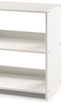 Pivot Direct Two Tone Bookcase In Grey And White PD_5000_CGW Thumbnail