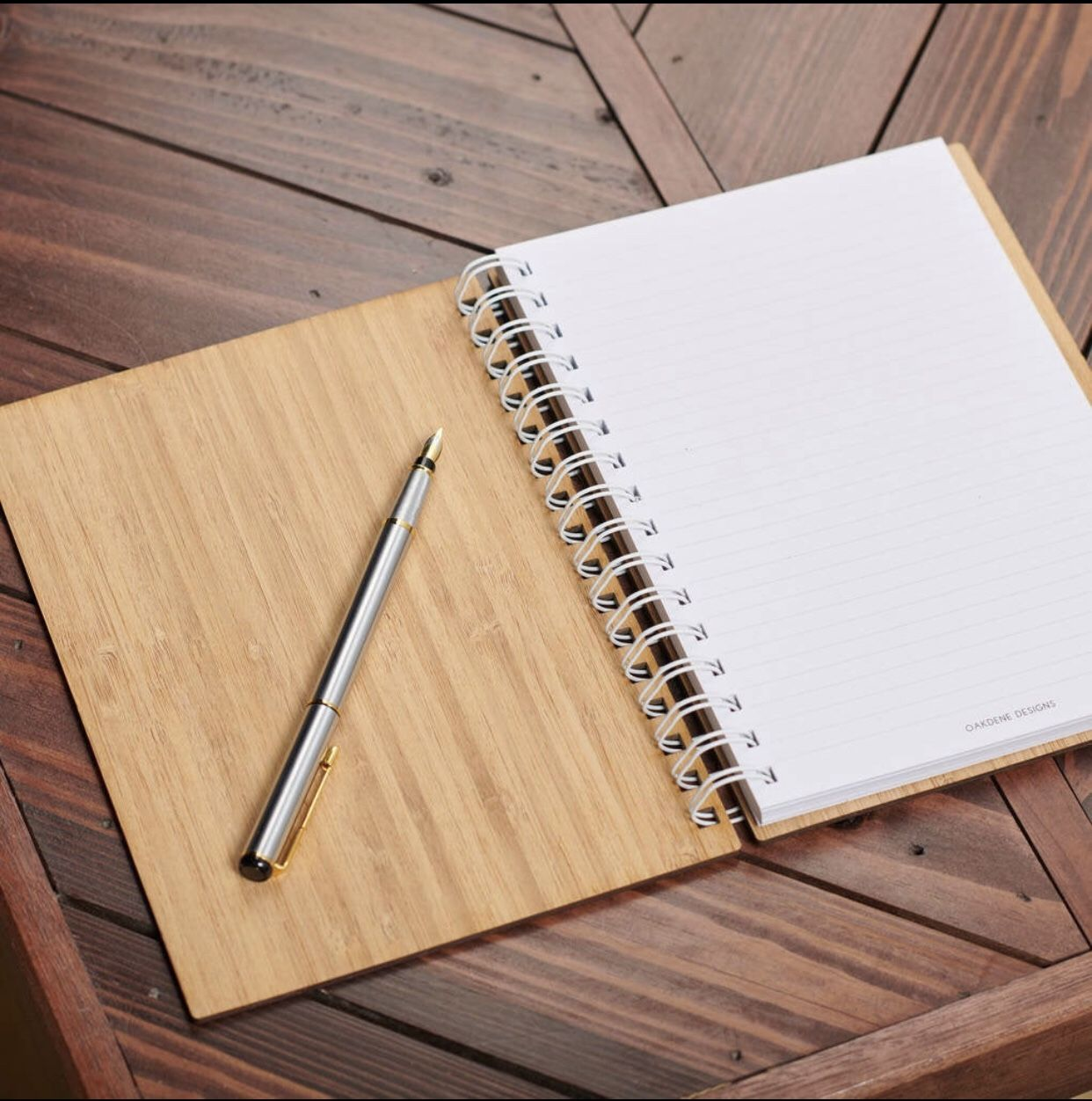 Real Authentic Bamboo Notebook