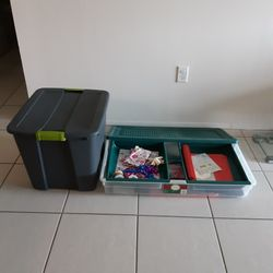 3 BINS STORAGE/CONTAINERS ALL FOR $15 Thumbnail
