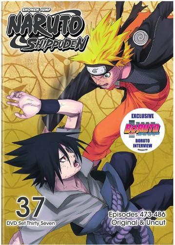 Naruto Shippuden Uncut Dvd Set 37 [DVD]