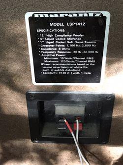 Marantz Stereo,cassette,cd Player An Speakers Thumbnail