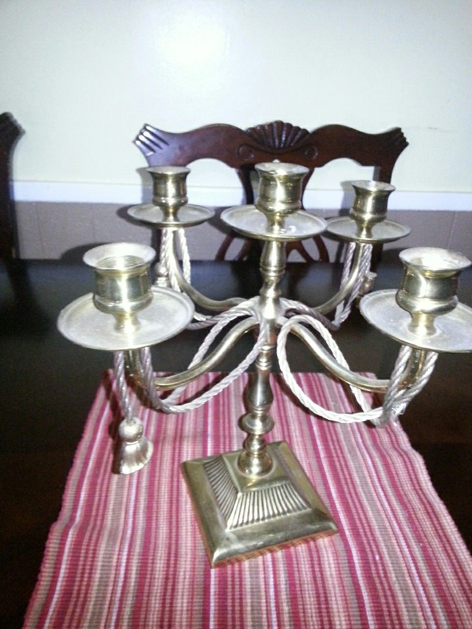 Allen Home Collection candle holder