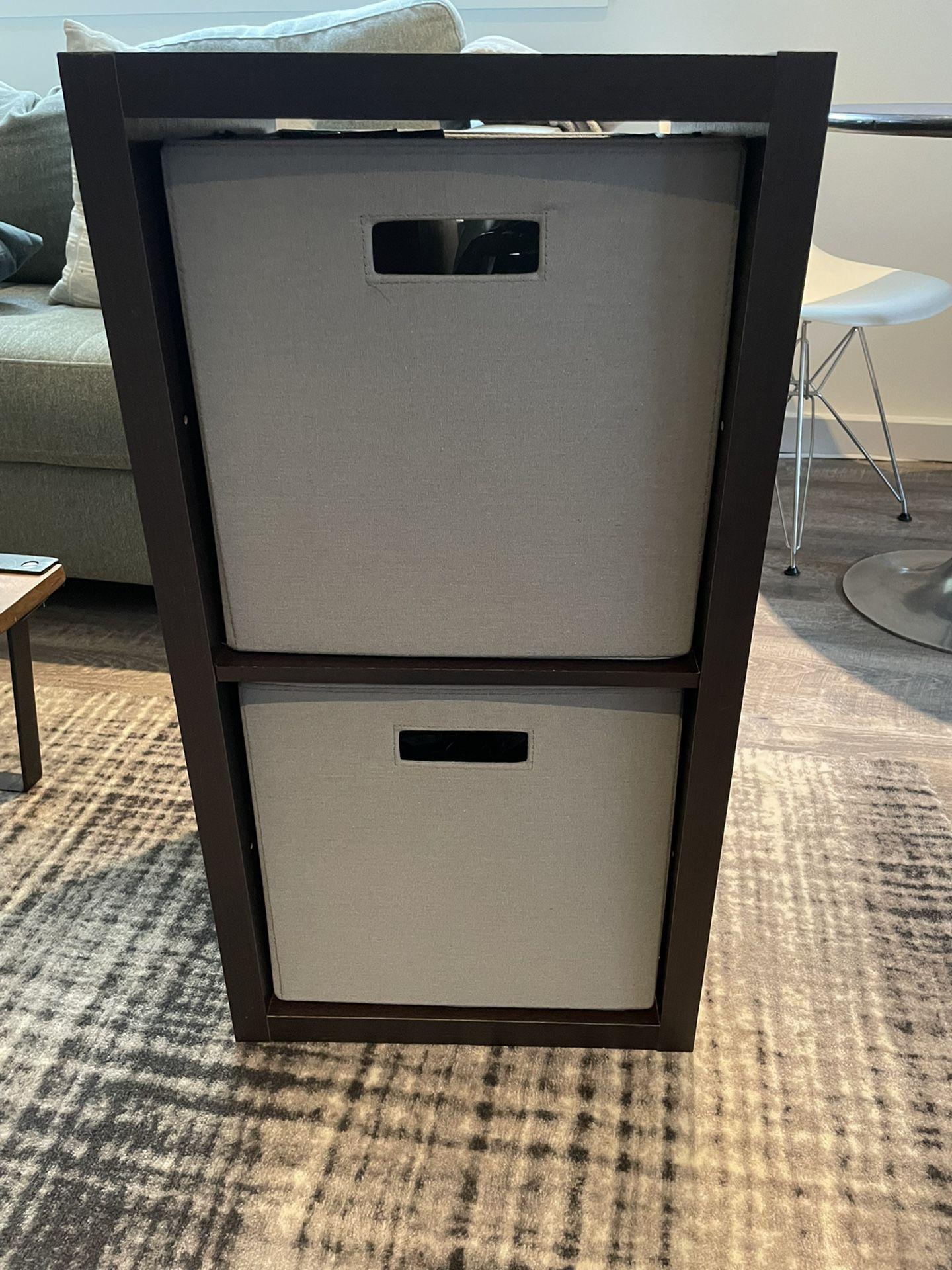 Cube Storage Shelf, Nightstand, TV Stand, Plant Shelf