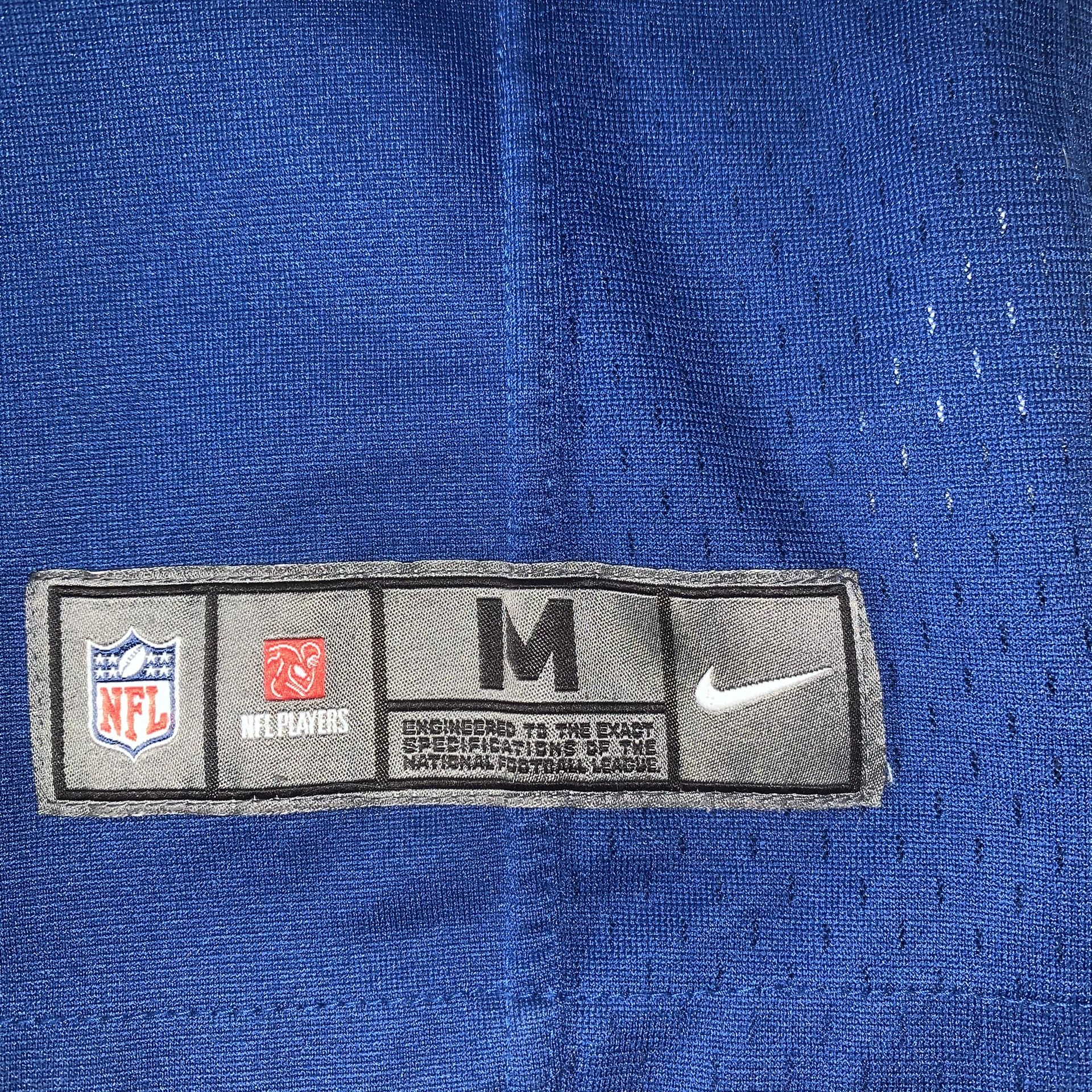 Nike On Field Indianapolis Colts Andrew Luck NFL Jersey Youth Kids SZ M Blue
