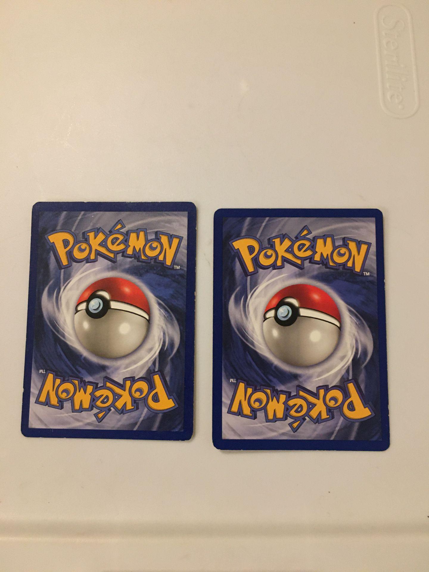 Very rare pokemon cards