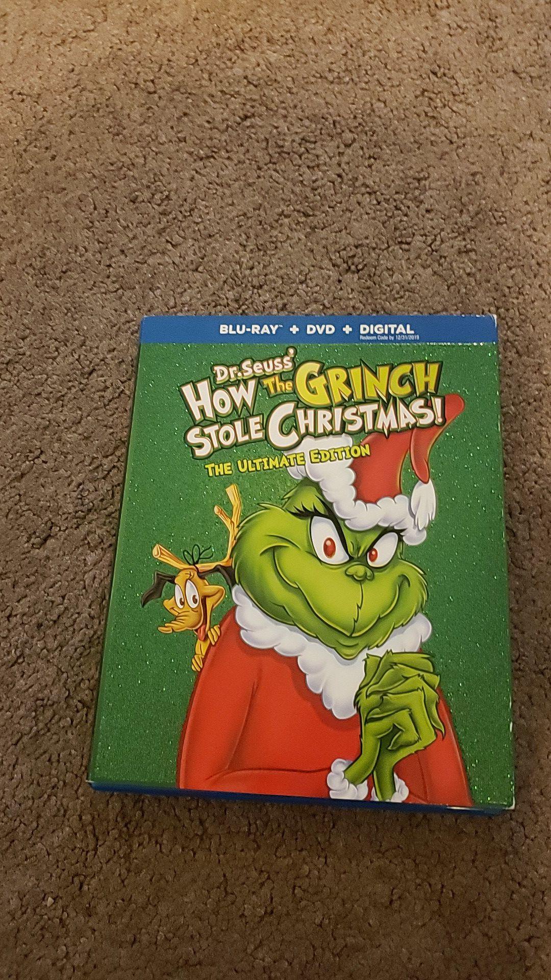 The Grinch 1967 Blu-Ray