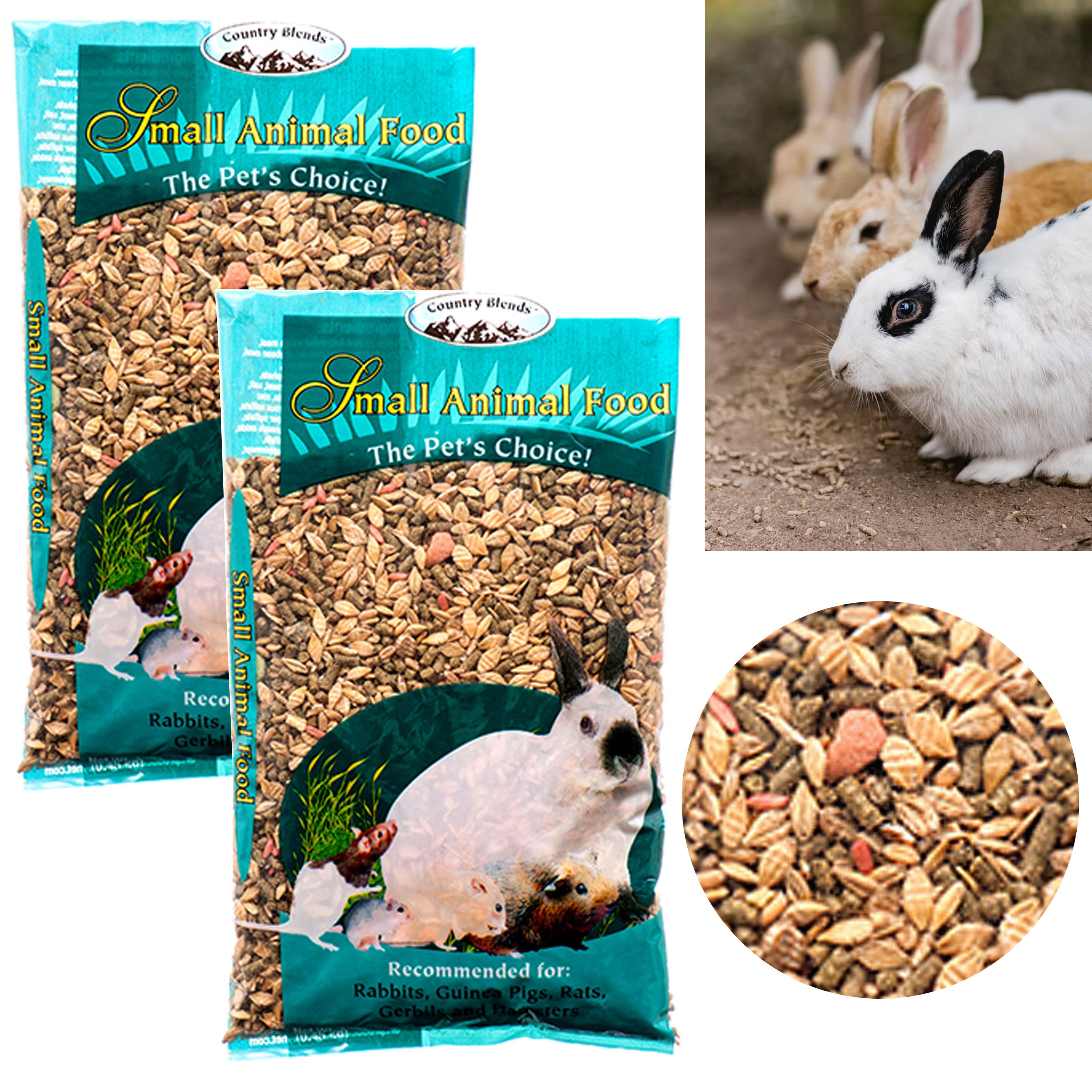 2lb Rabbit Food Bunny Rabbits Nibble Guinea Pigs Hamsters Small Animal Treat Pet