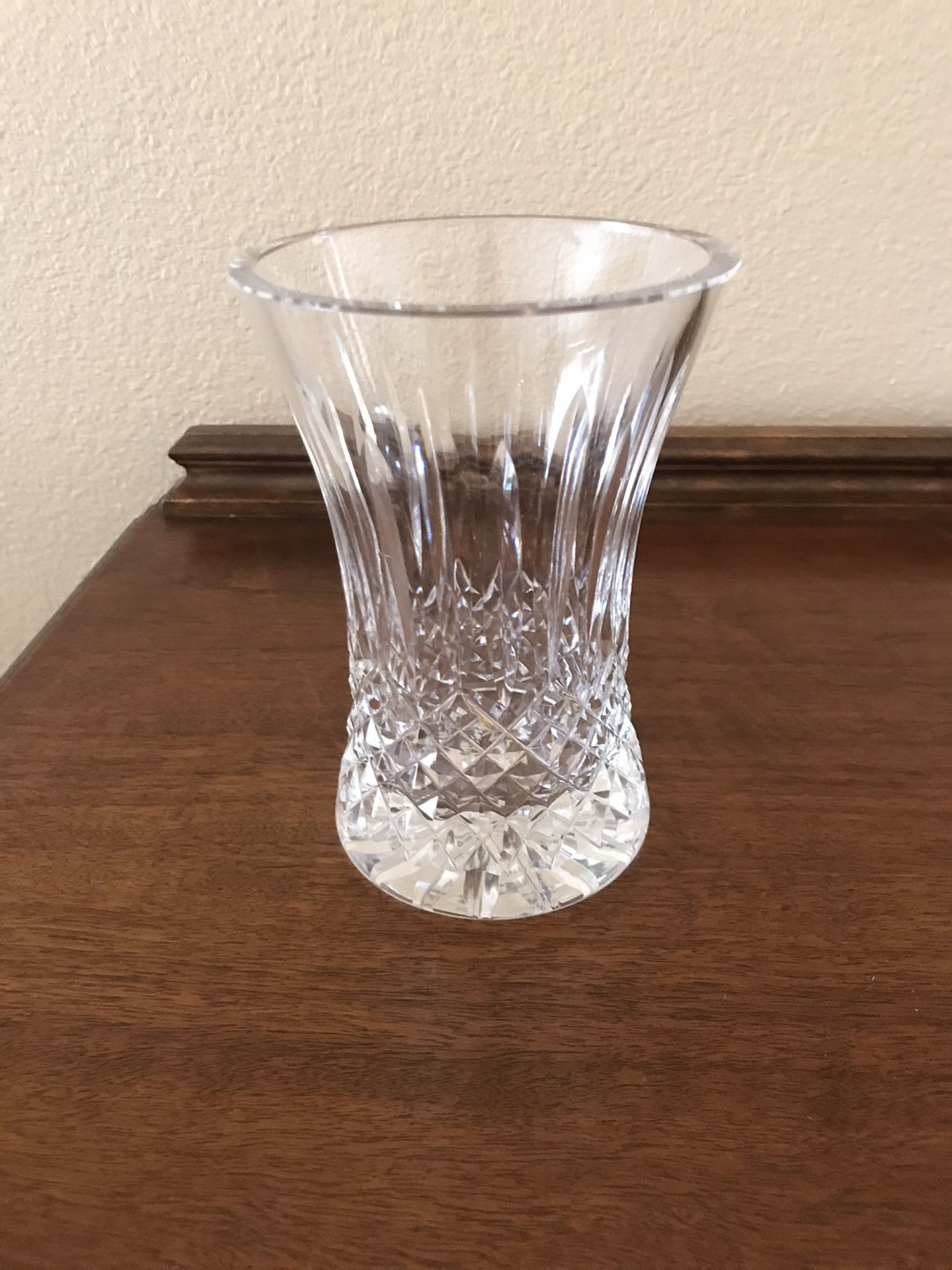 Waterford Crystal Bowl And Vases