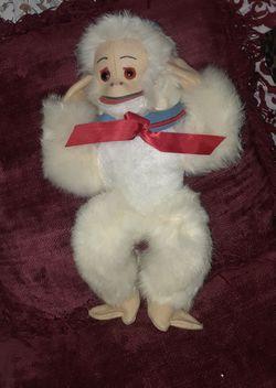Vintage stuffed monkey Thumbnail