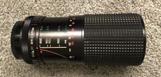 Canon 80mm-200mm lense Thumbnail