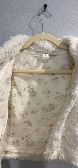 Girls Faux Fur Vest Thumbnail