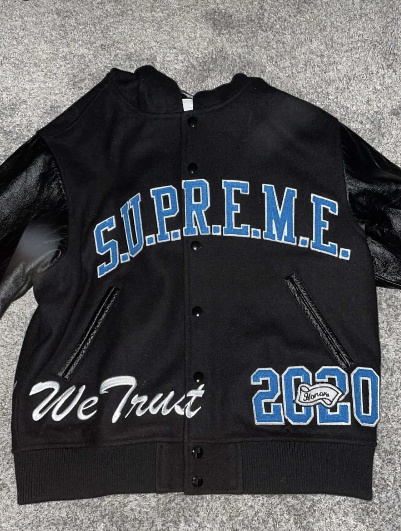 PreOwned Supreme Varsity Jacket