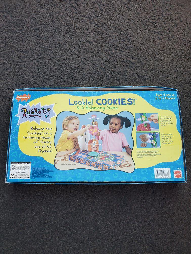 Vintage Rugrats Board Game Lookie Cookies 3D