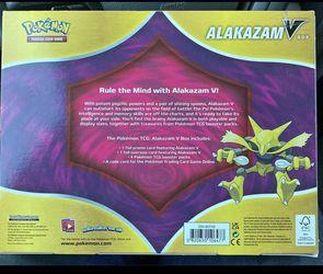 Pokemon Alakazam V Collection Box Thumbnail