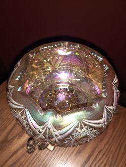 Candle holder Fenton glass Thumbnail