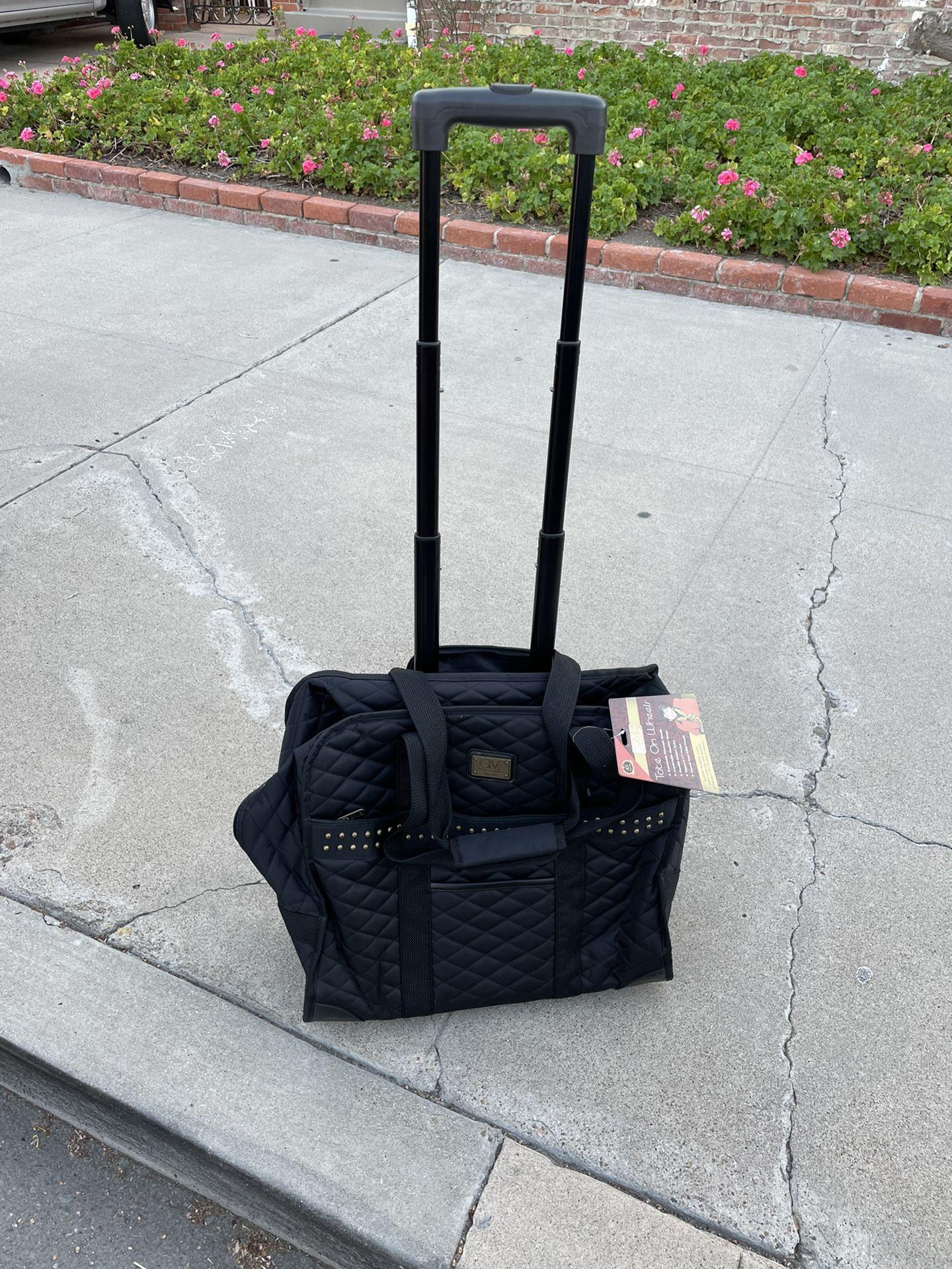 Tote on Wheels/ Rolling Bag