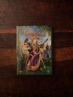 Tangled DVD Thumbnail