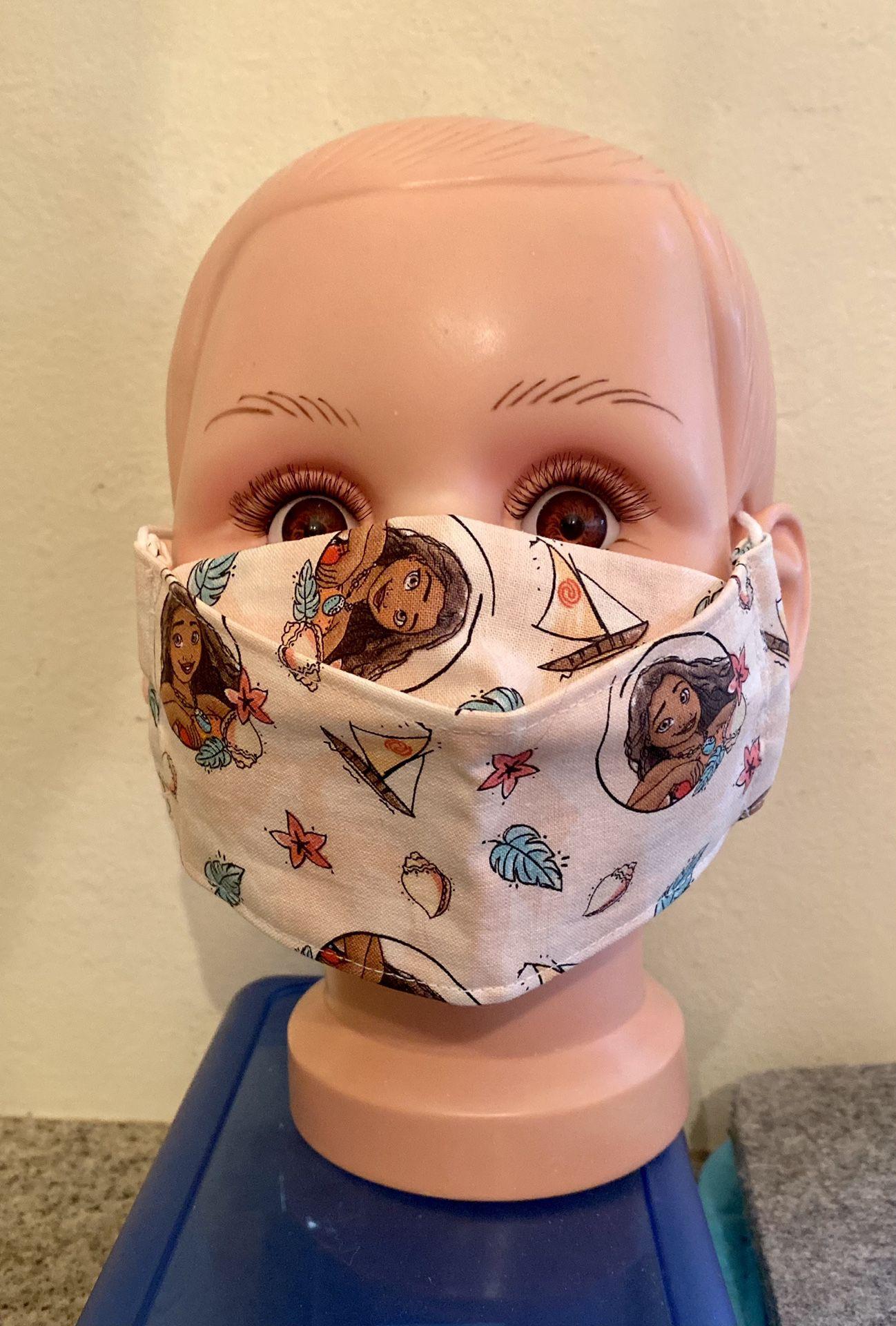 Disney Moana Kid Size 3D Face Mask