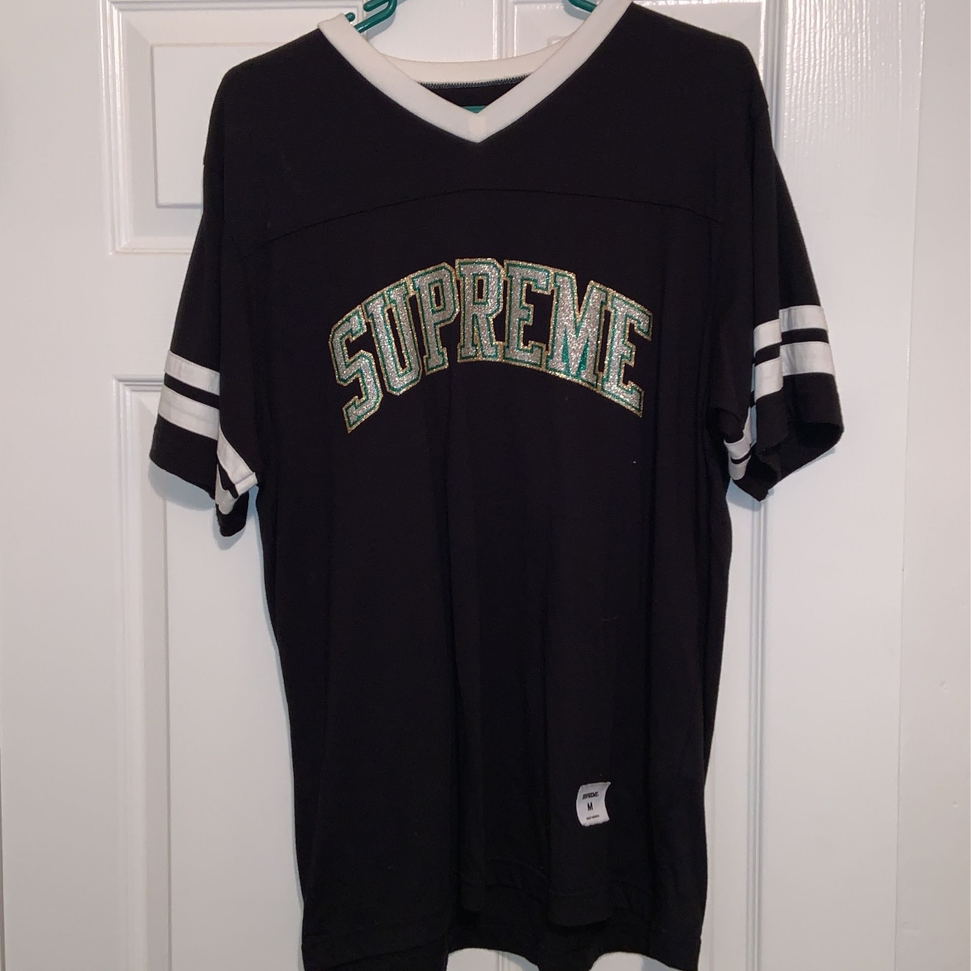 Supreme Glitter Arc Jersey Medium
