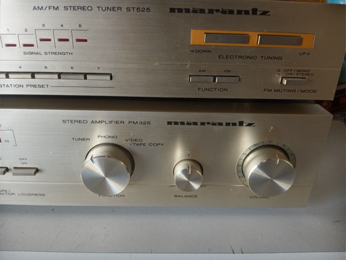 Marantz  Integrated Amp and Tuner, Free Shipping