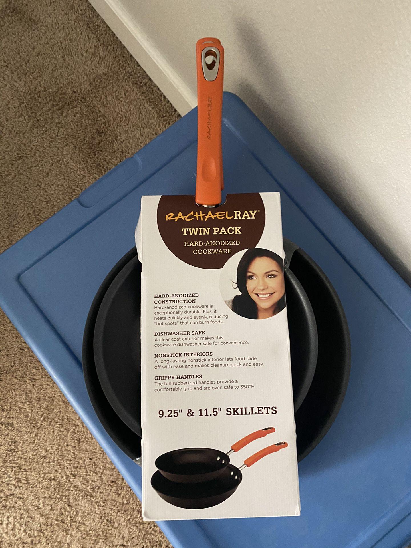 Brand new Rachael ray pan set.