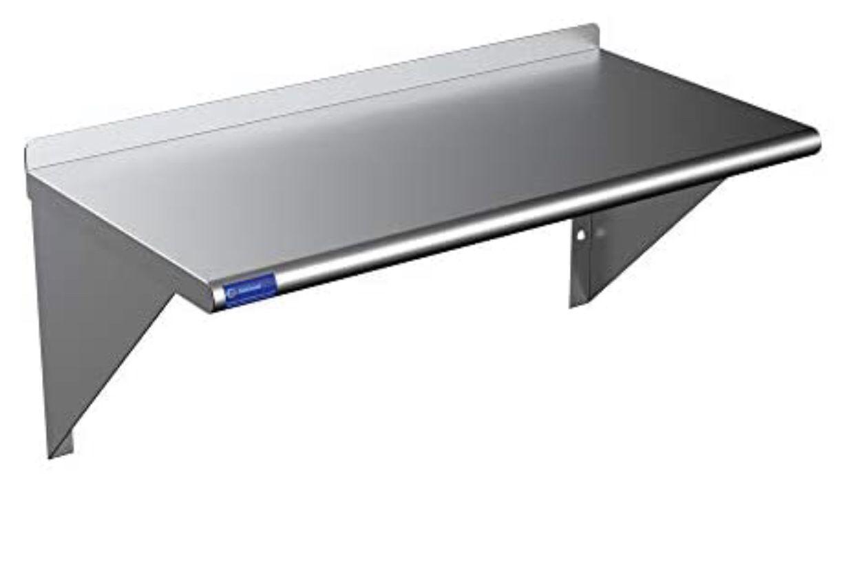 """Metal Shelf (30"""" X 15"""")"""