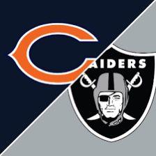 2 Tickets Bears Vs Raiders in Vegas