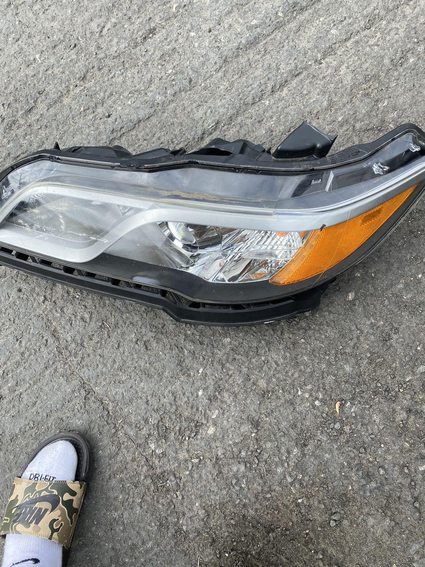 2013 Acura TL Driver Headlight