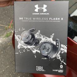 JBL  Under Amour True Wireless Flash X Headphones  Thumbnail