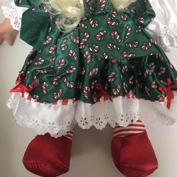 Precious Moments Christmas Doll, 15 Inches  Thumbnail
