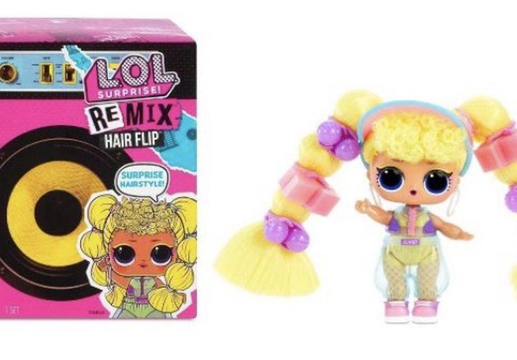 LOL Remix Hair Flip Surprise Dolls New