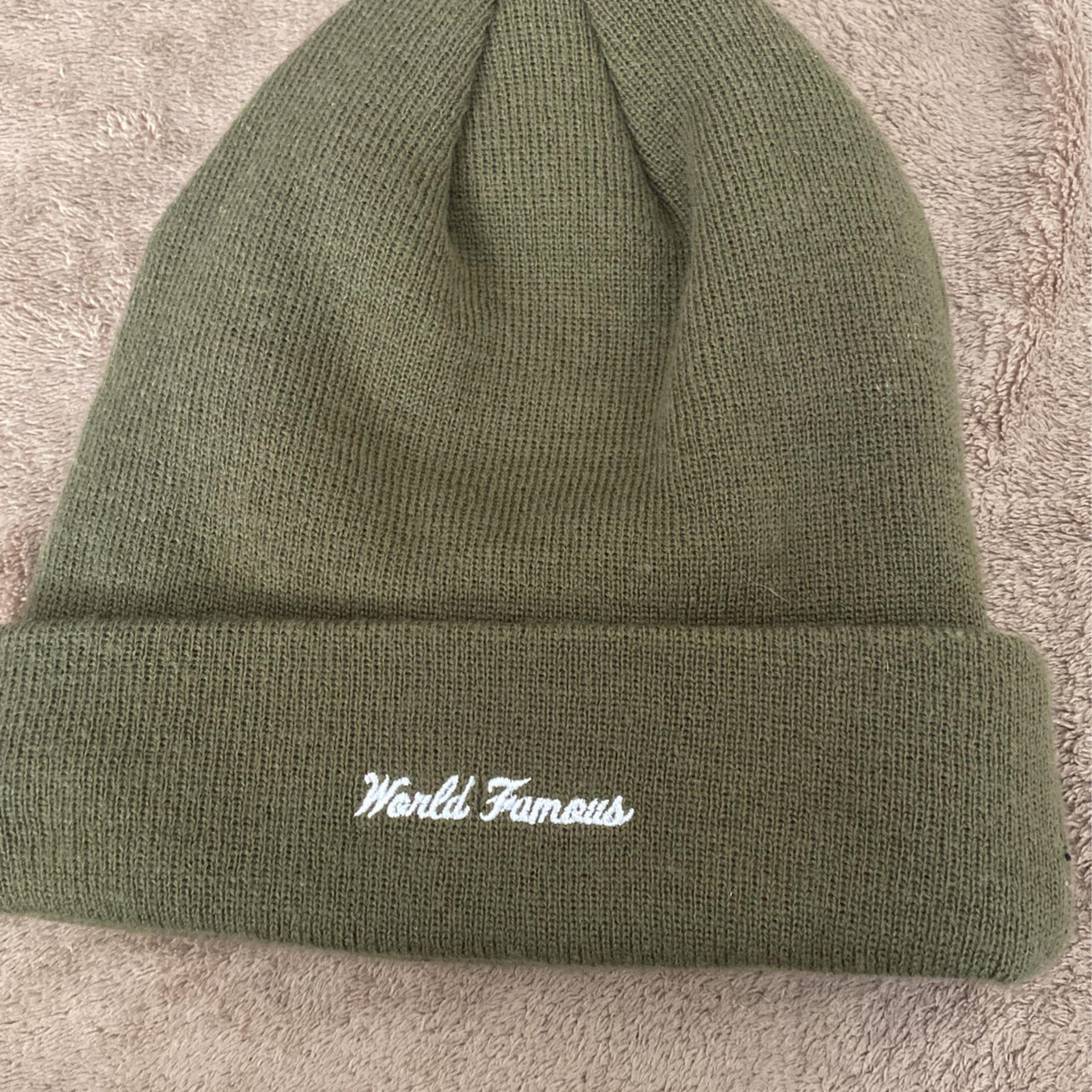 Supreme beanie Forrest green