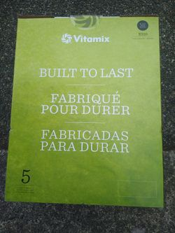Vitamix E 310 Series Blender(In Stores At $349 Make An Offer For Pickup Today) Thumbnail