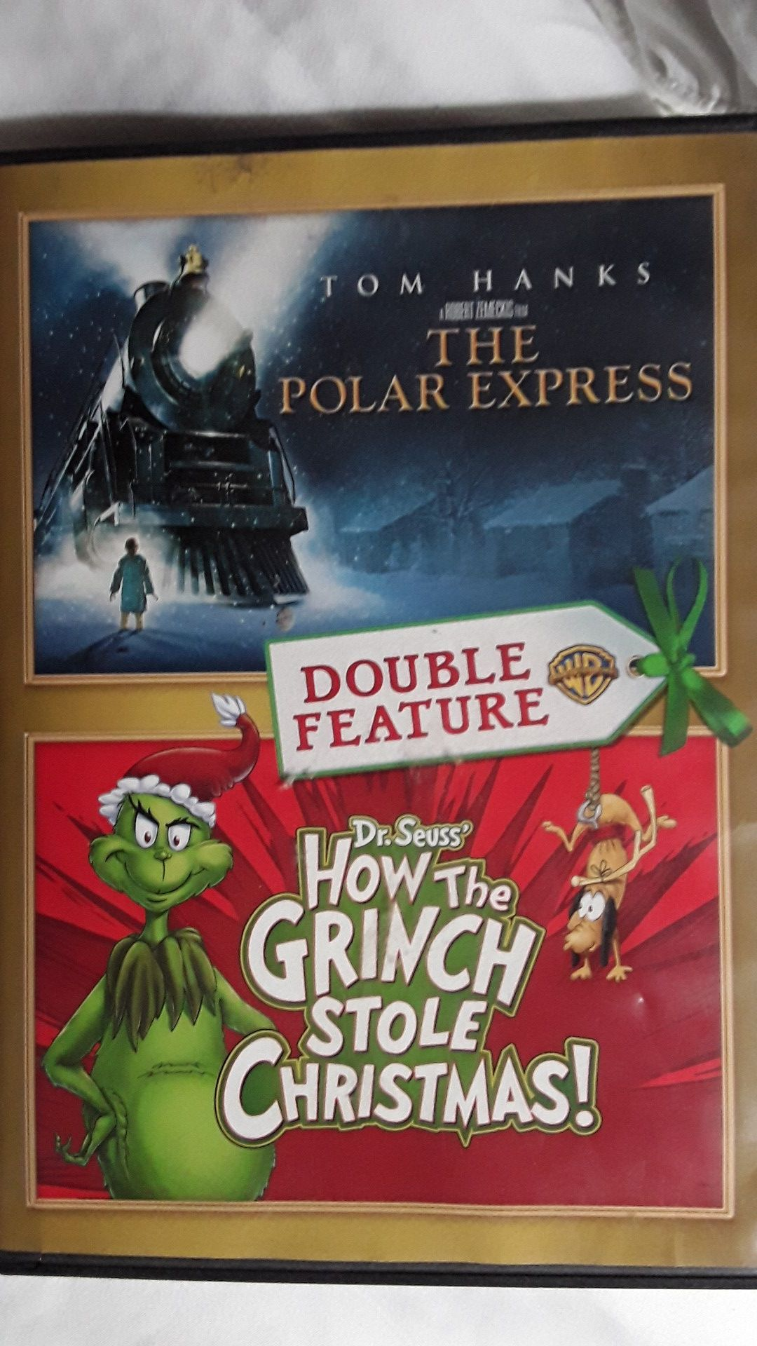 How the grinch stole christmas and Polar express movies