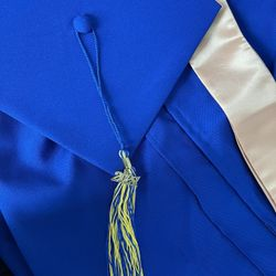 Graduation Cap And Gown  Thumbnail