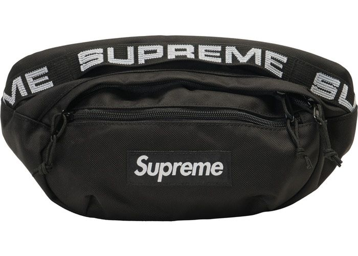 Supreme black waist bag 2 for $300 only 1 for $100