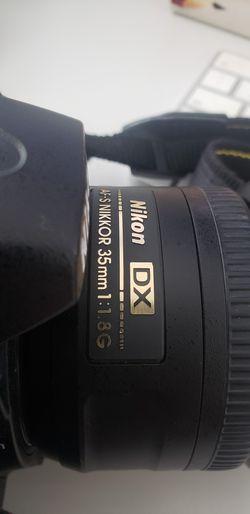 Nikon D7000 + 35mm 1.8 Nikkor lenses + Evecase Thumbnail
